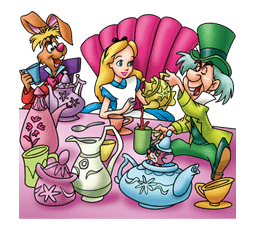 Alice in Wonderland sticker #21605