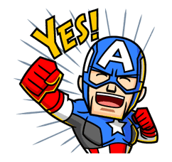 MARVEL mini Heroes by Marvel sticker #22137
