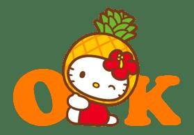 Hello Kitty Around the World sticker #22410