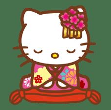 Hello Kitty Around the World sticker #22411