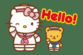 Hello Kitty Around the World sticker #22412