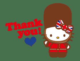 Hello Kitty Around the World sticker #22413