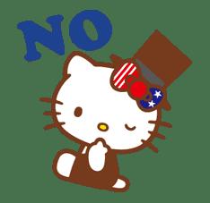 Hello Kitty Around the World sticker #22414