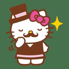 Hello Kitty Around the World sticker #22421