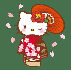 Hello Kitty Around the World sticker #22422