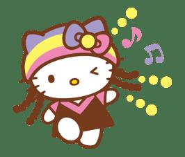 Hello Kitty Around the World sticker #22423