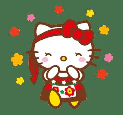 Hello Kitty Around the World sticker #22424
