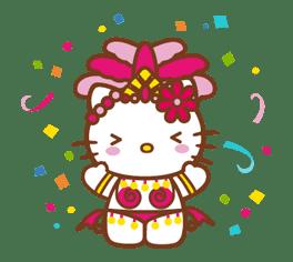 Hello Kitty Around the World sticker #22426