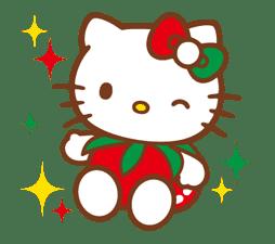 Hello Kitty Around the World sticker #22428