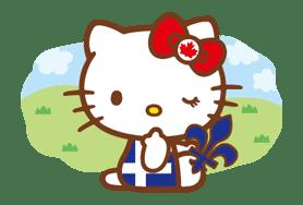 Hello Kitty Around the World sticker #22429
