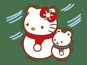 Hello Kitty Around the World sticker #22430