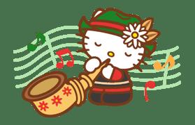 Hello Kitty Around the World sticker #22434