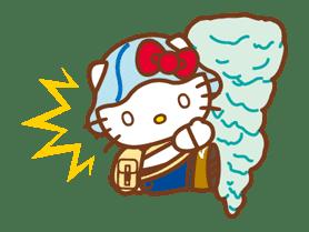 Hello Kitty Around the World sticker #22435
