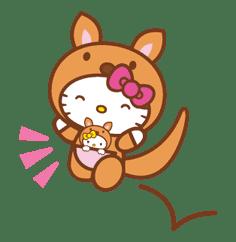 Hello Kitty Around the World sticker #22436
