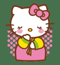 Hello Kitty Around the World sticker #22437