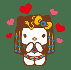 Hello Kitty Around the World sticker #22442