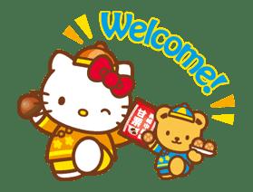 Hello Kitty Around the World sticker #22446