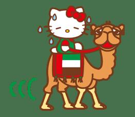 Hello Kitty Around the World sticker #22448
