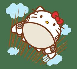 Hello Kitty Around the World sticker #22449