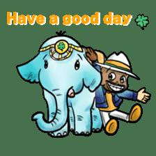 RAJA-Daily Conversation sticker #12573246