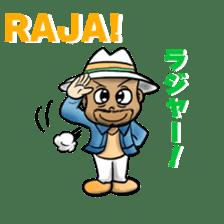 RAJA-Daily Conversation sticker #12573264