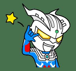 ULTRAMAN: Heroes & Monsters sticker #23429