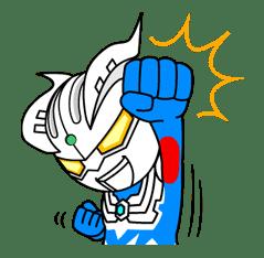 ULTRAMAN: Heroes & Monsters sticker #23433