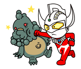 ULTRAMAN: Heroes & Monsters sticker #23435