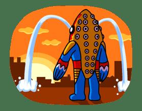ULTRAMAN: Heroes & Monsters sticker #23441