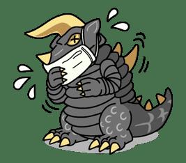 ULTRAMAN: Heroes & Monsters sticker #23451