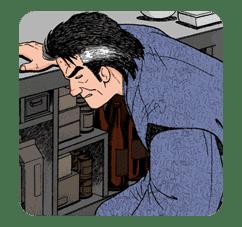 Oishinbo sticker #23481