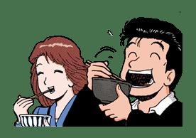Oishinbo sticker #23491