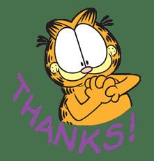 Garfield sticker #23408