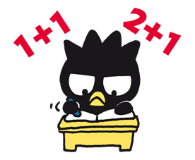 BAD BADTZ-MARU sticker #23861