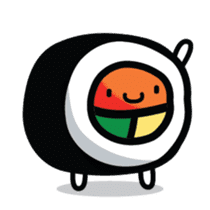 Sushi Land Cute Stickers sticker #13721802