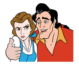 Beauty and the Beast sticker #26022