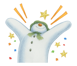 The Snowman sticker #26184