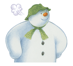 The Snowman sticker #26193