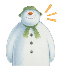 The Snowman sticker #26197
