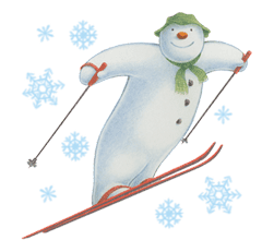 The Snowman sticker #26202