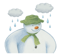 The Snowman sticker #26206