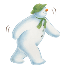 The Snowman sticker #26207