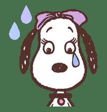 SNOOPY & BELLE sticker #691332
