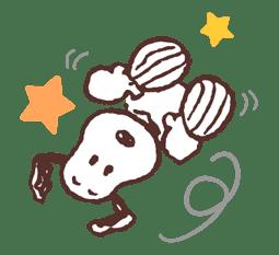 SNOOPY & BELLE sticker #691358
