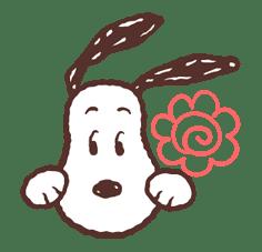 SNOOPY & BELLE sticker #691364