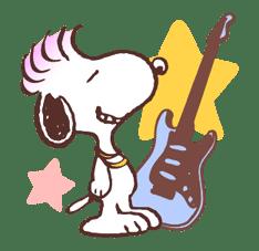 SNOOPY & BELLE sticker #691366