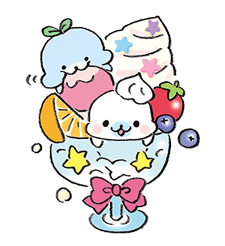 Mamegoma's Silly Sticker Set sticker #691478