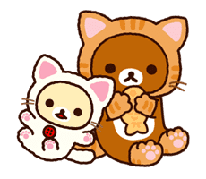 Rilakkuma Animated Stickers sticker #2131733
