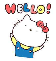 Hello Kitty × Usamaru sticker #13455182