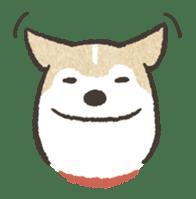 Shiba Inu (Shiba-Dog) stamps sticker #96518